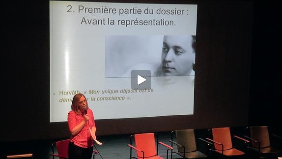 """Vidéo """"Figaro divorce"""" présentation de la pièce démontée par Aurélie Boulanger"""