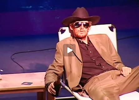 """Vidéo """"Muerte y reencarnaciòn en un cowboy"""" de Rodrigo García, extrait"""
