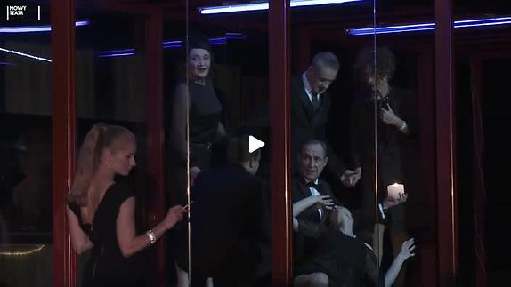 """Vidéo """"Les Français"""", m.e.s.  Krzysztof Warlikowski - Extraits"""