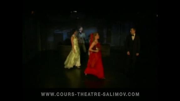 """Image du spectacle """"La Chauve-souris"""" (extr 9), opérette de Johann Strauss fils, Emile Salimov"""