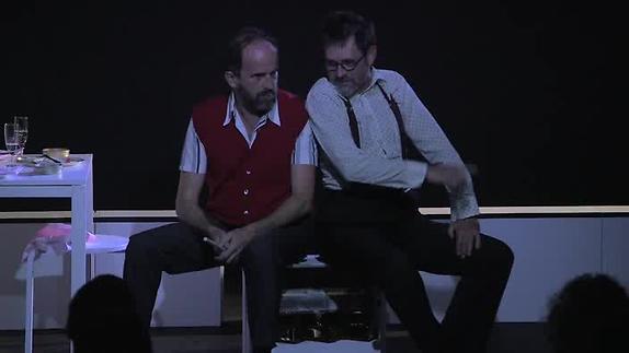 """Vidéo """"Les Voisins"""" de Michel Vinaver au Théâtre de Poche-Montparnasse - Extrait"""