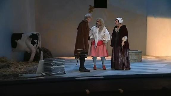 """Vidéo """"George Dandin"""" de Molière, m.e.s. J.-P. Vincent à Vire -"""