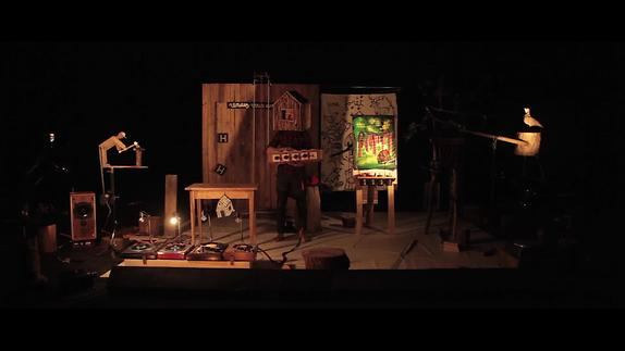 """Image du spectacle """"Une forêt en bois...construire"""" - Estelle Charles/Fred Parison - Teaser"""