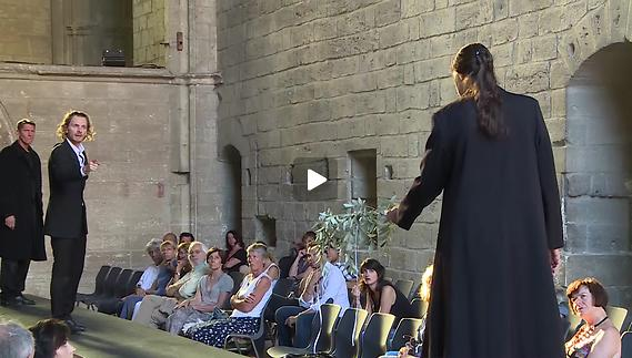 """Vidéo Olivier Py - """"Eschyle, pièces de guerre"""" - Extrait"""
