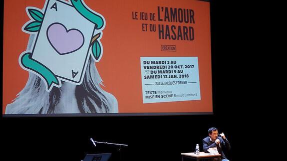 """Vidéo """"Le Jeu de l'amour et du hasard"""", présentation par Benoît Lambert"""