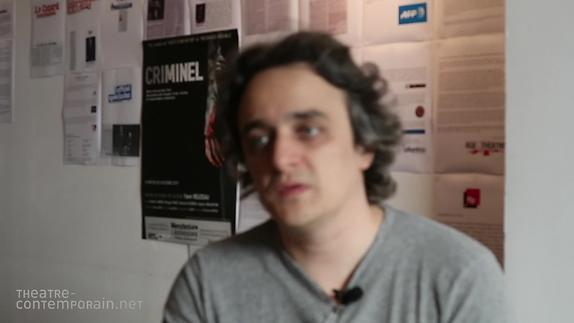 """Vidéo Yann Reuzeau, """"Criminel"""", présentation"""