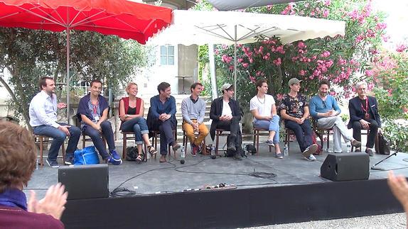"Vidéo ""Les Damnés"", dialogue artistes-spectateurs"