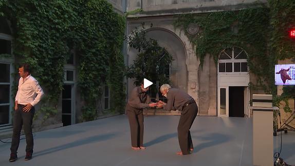 Vidéo Frédéric Ferrer, Josef Nadj et Dominique Mercy - Le Sujet des sujets - Extrait