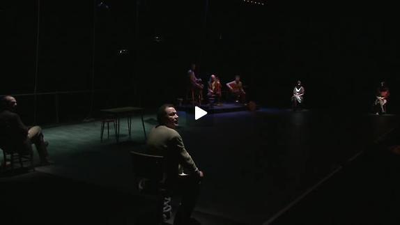 """Vidéo """"Tout un homme"""", m.e.s. Jean-Paul Wenzel, extraits"""