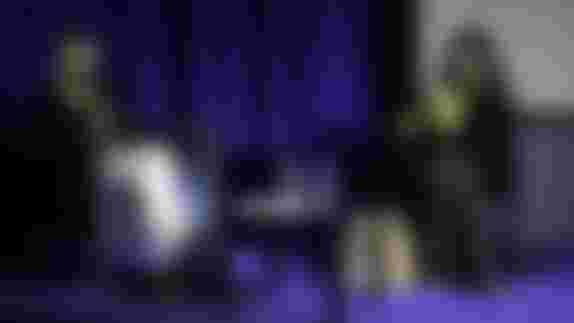 """Image du spectacle """"L'art du sexe"""" par Laure Adler, avec Sophie Calle"""