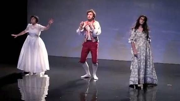 """Vidéo """"Pourrie, une vie de princesse"""", extraits des répétitions"""