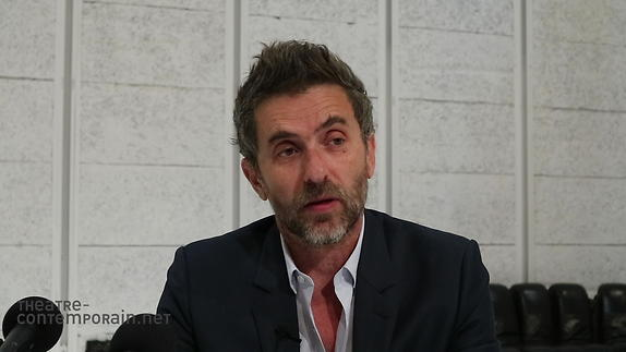 "Vidéo Pascal Rambert, ""Une Vie"", présentation"