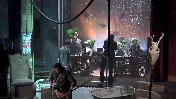 "Vidéo ""Oedipe Tyran"", m.e.s. Matthias Langhoff, extraits"
