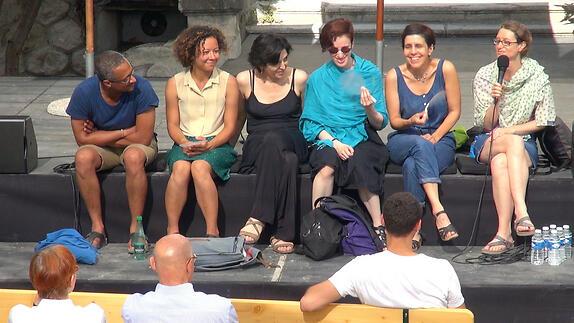 """Vidéo Dialogue artistes-spectateurs autour de """"A mon seul désir"""" avec Gaëlle Bourges"""