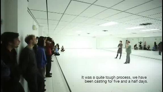 """Vidéo """"Noéplanète"""" d'Arpad Schilling, Extraits du casting"""