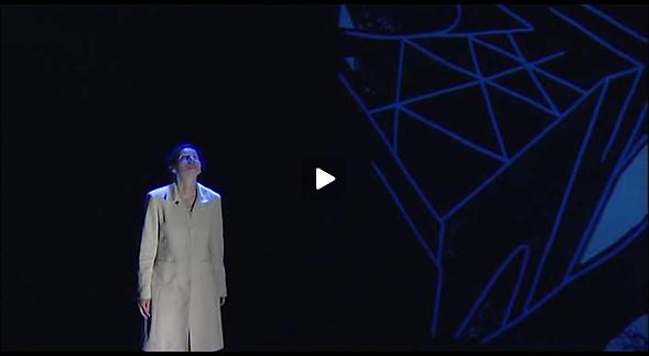 """Vidéo """"Ana ou la jeune fille intelligente"""", m.e.s. G. Beaudout, teaser"""