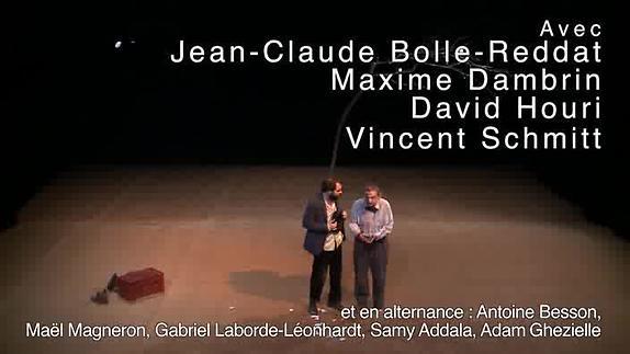 """Vidéo """"En attendant Godot"""", m.e.s. L. Fréchuret - Théâtre de l'Incendie - Extraits"""