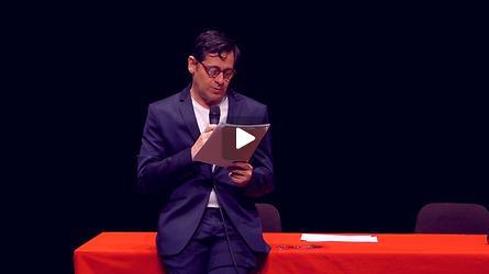 Conférence de presse du 71e Festival d'Avignon, présentation par Olivier Py