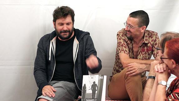 """Vidéo RDV de la nuit, Frédéric Vossier et Stanislas Nordey / revue """"Parages"""""""
