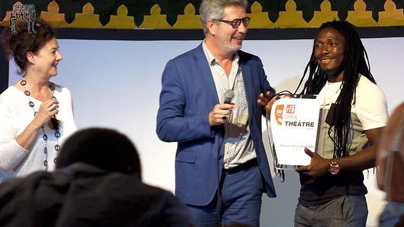 Vidéo Prix RFI Théâtre 2017 / Edouard Elvis Bvouma