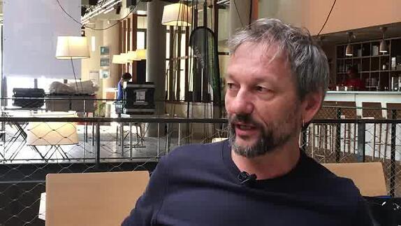 "Vidéo Hubert Colas, ""Texte M"", présentation"
