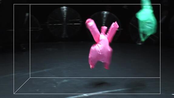 """Vidéo """"L'après-midi d'un foehn"""" / """"Vortex"""" - Entretien avec Phia Ménard"""