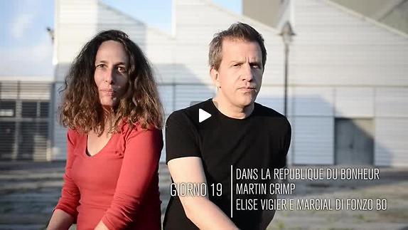 """Vidéo """"Dans la République du Bonheur"""" - Présentation par M. Di Fonzo Bo et E. Vigier"""
