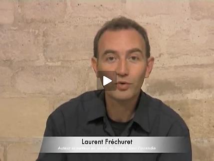 """Vidéo """"Sainte dans l'incendie"""", présentation par Laurent Fréchuret"""
