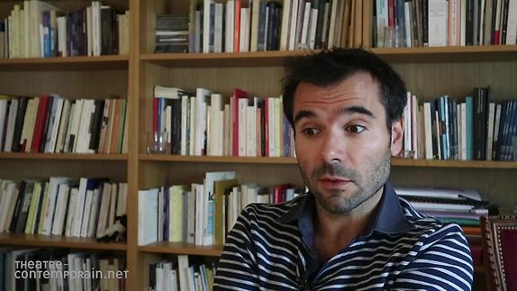 """Image du spectacle """"L'Atome"""",  Julien Avril, la genèse"""