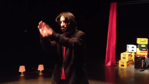 "Vidéo ""Laika"", Ascanio Celestini,  David Murgia - teaser"