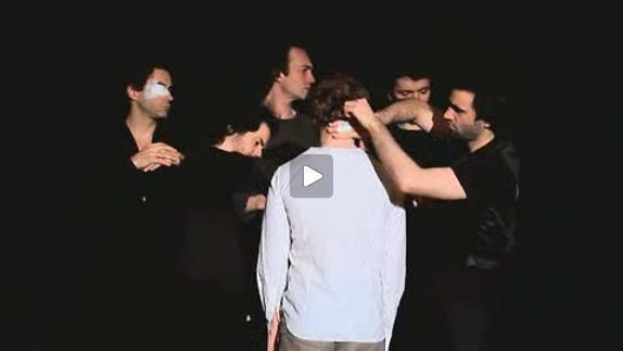 """Image du spectacle Sylvain Creuzevault pour """"Notre terreur"""""""