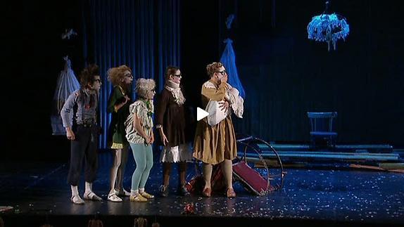 Vidéo Semianyki (La Famille), m.e.s. Collectif Teatr Licedei
