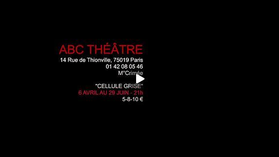 """Vidéo """"Cellule Grise"""" de Yannick Nédélec, m.e.s. Cindy Bobbio - Bande annonce"""