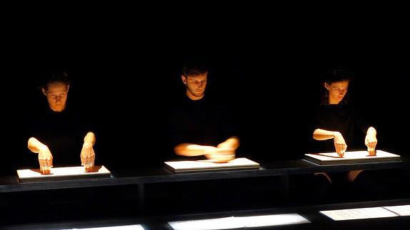 """Vidéo """"Musique de tables"""", extraits"""