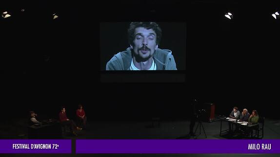 """Vidéo """"La Reprise histoire(s) du théâtre (I)"""" - M. Rau - Extraits"""