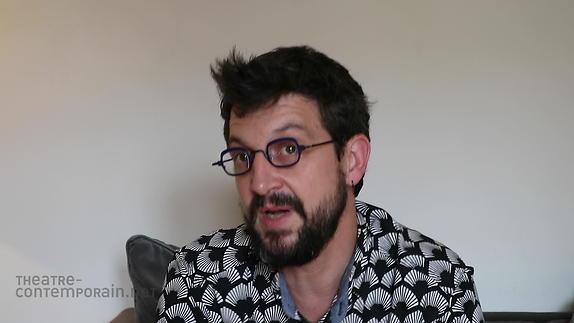 """Vidéo Simon Grangeat, """"Le premier texte de théâtre"""""""