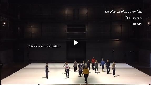 """Image du spectacle """"Story Water"""", chorégraphie Emanuel Gat - Extrait"""