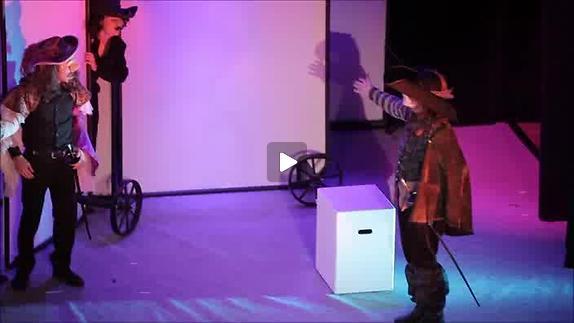 "Vidéo ""Cyrano de Bergerac"", m.e.s. Laurent Cappe - Extraits"