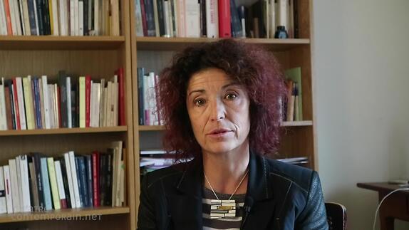 """Vidéo Nathalie Papin, """"La Morsure de l'âne"""", présentation"""