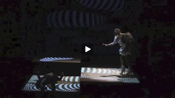 """Image du spectacle """"OpenSpace"""" de Sylvain Renard, extraits"""