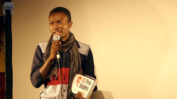 """Vidéo Prix RFI Théâtre 2018, """"Les inamovibles"""" de Sedjro Giovanni Houansou"""