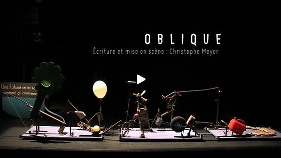 """Vidéo """"Oblique"""" de Christophe Moyer, teaser"""