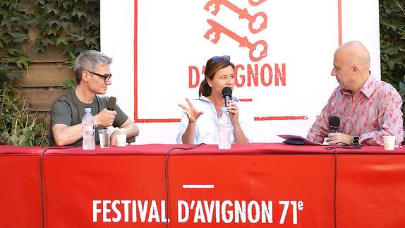 """Vidéo Fanny de Chaillé et Pierre Alferi pour """"Les Grands"""""""