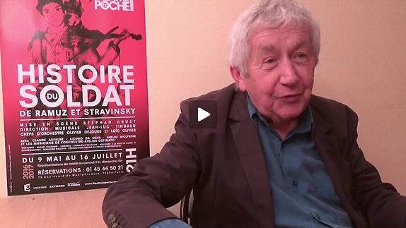 """Vidéo """"Histoire du soldat"""" - Interview de Claude Aufaure pour Pianopanier"""