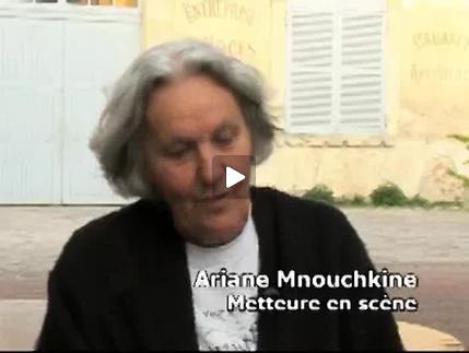 Vidéo Entretien avec Ariane Mnouchkine à propos des Naufragés du Fol Espoir