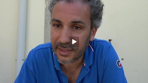 """Vidéo M. El Khatib présente """"Stadium"""" pour Le Quai d'Angers"""