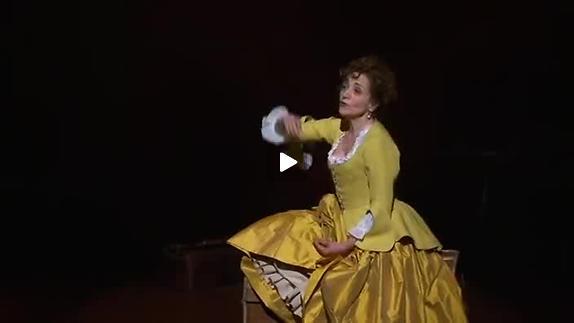 """Vidéo """"La Locandiera"""" de C. Goldoni, m.e.s. Marc Paquien, extrait"""
