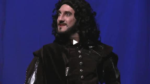 "Vidéo ""Cyrano"" d'après E. Rostand, m.e.s. A. Magnier, bande-annonce"