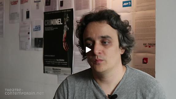 Vidéo Yann Reuzeau, le projet de mise en scène