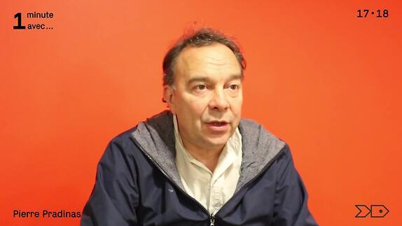 """Vidéo """"Occupation"""", A. Ernaux, une minute avec Pierre Pradinas"""